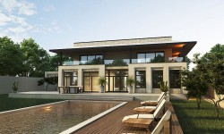 CONTEMPORARY 5000 SF SMART HOUSE