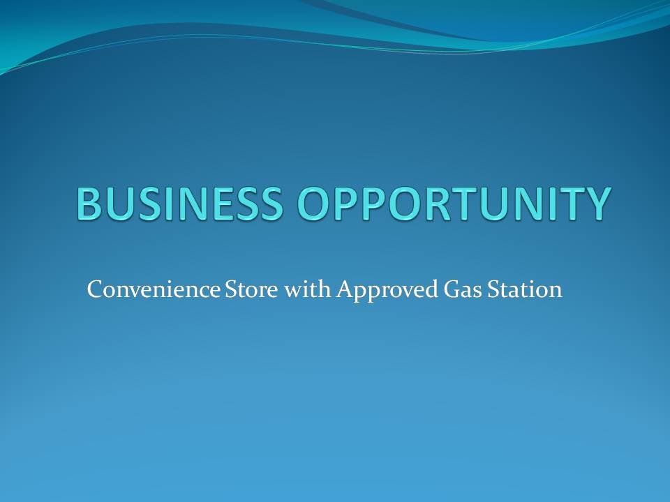 BUSINESS OPPORTUNINTY